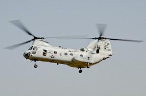 海兵隊のCH-46E