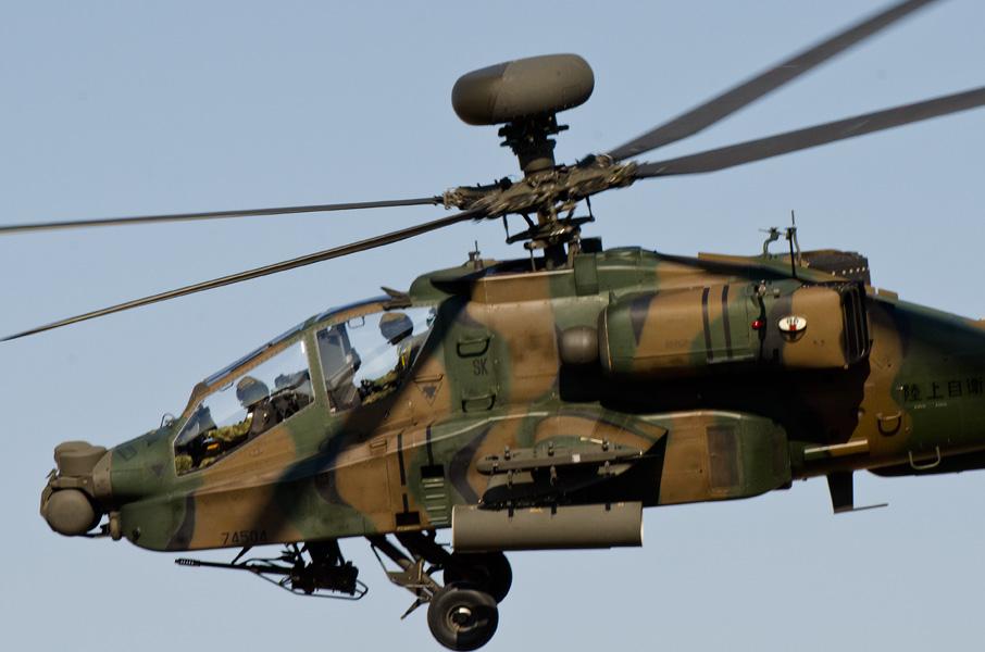 航空学校霞ヶ浦校のAH-64D