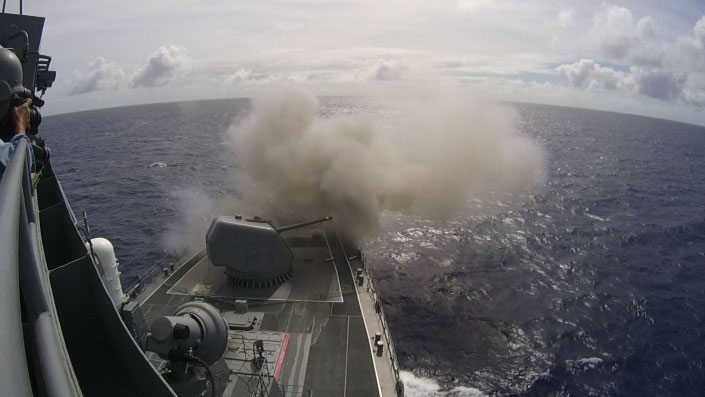 海上自衛隊『てるづき』CIC取材に成功した『ウェポン・フロントライン』第2弾、ブルーレイ&DVD2月4日に同時リリース