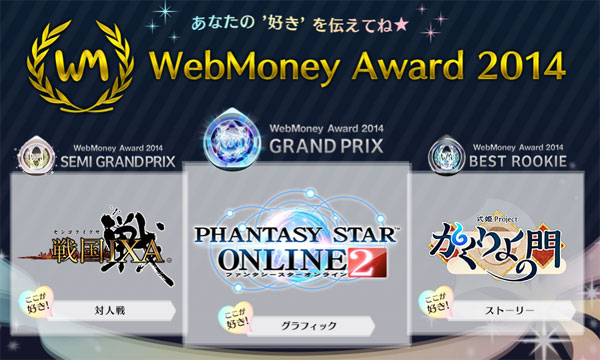 WebMoney Award 2014