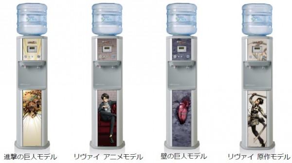 『アクアアドバンス専用 進撃の巨人オリジナルパネル』(各8000円税別)