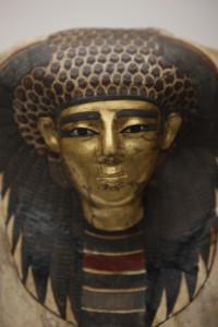 『王妃のマスク』(部分) 新王国・第18王朝時代(前1550~前1292年頃)マンチェスター博物館蔵 (C) The Manchester Museum, The University of Manchester