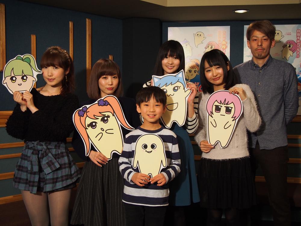 『にゅるにゅる!!KAKUSENくん2期』、楠田亜衣奈、渡部優衣、山口立花子の参加決定
