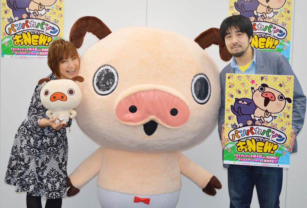 パンツ、ゲットだよ!アニメ『パンパカパンツ おNEW!』主題歌歌手に松本梨香決定