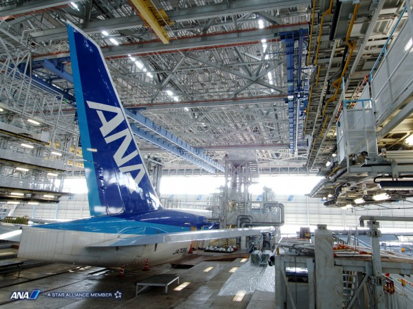 ANA整備工場見学&羽田空港国際線ターミナル見学