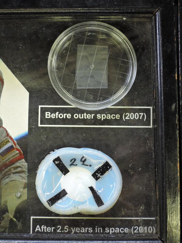 宇宙空間で使用したネムリユスリカの収納ケース