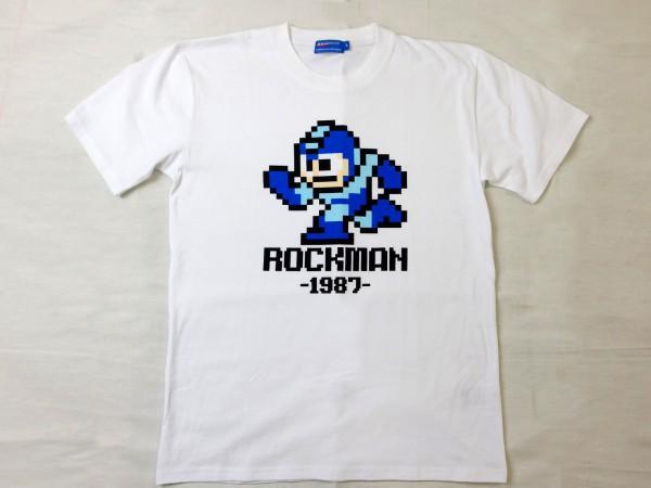 ロックマン Tシャツ