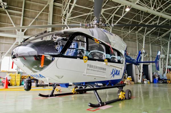 新型実験ヘリ・BK117C-2