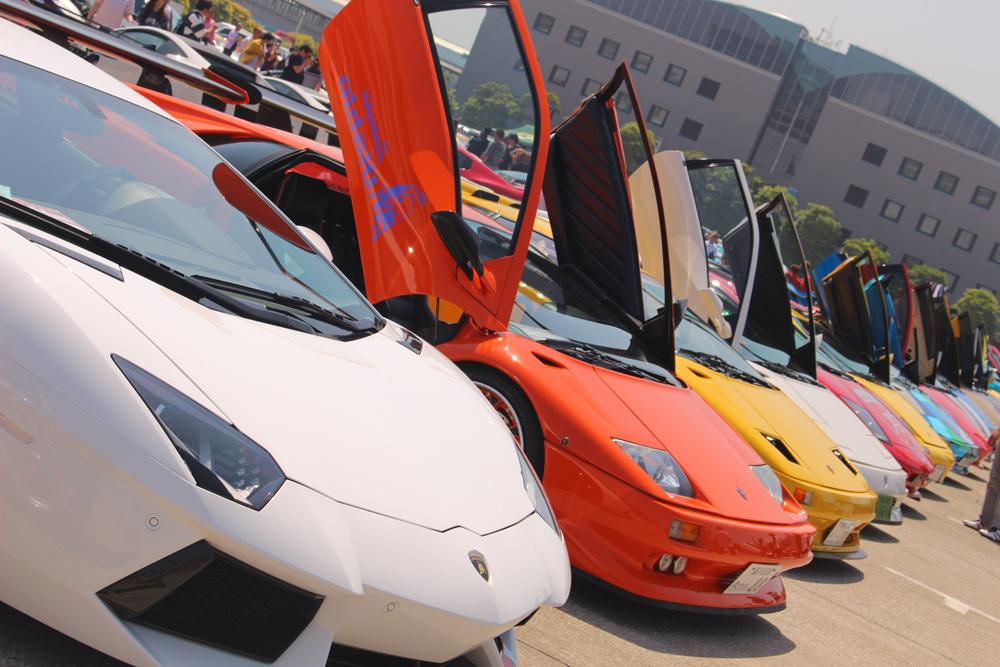 憧れのスーパーカー200台がお台場に集結!『お台場スーパーカーミーティング』6月7日開催