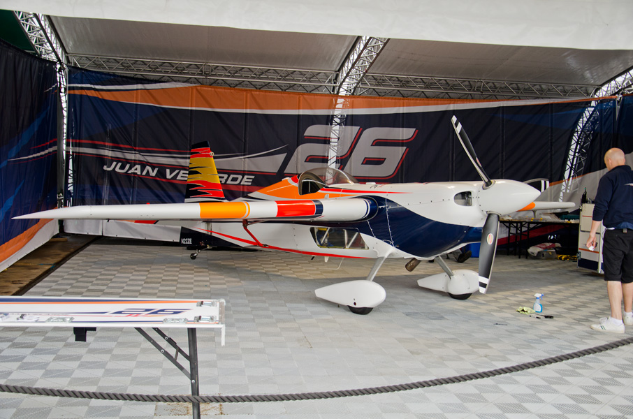 ベラルデ選手のエッジ540V2