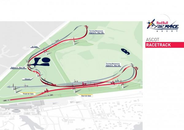 2014年アスコット大会のレーストラック(画像提供:Red Bull)