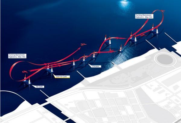 千葉大会のレーストラック図(画像提供:Red Bull)