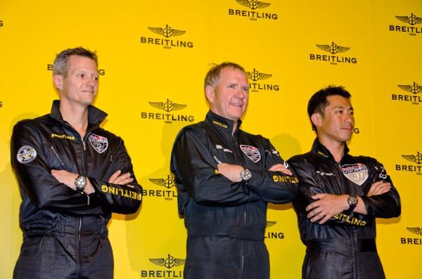 チームブライトリングのパイロット達