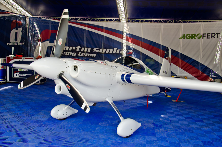 ソンカ選手のエッジ540V3