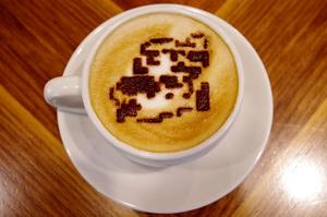 マリオのカフェラテ