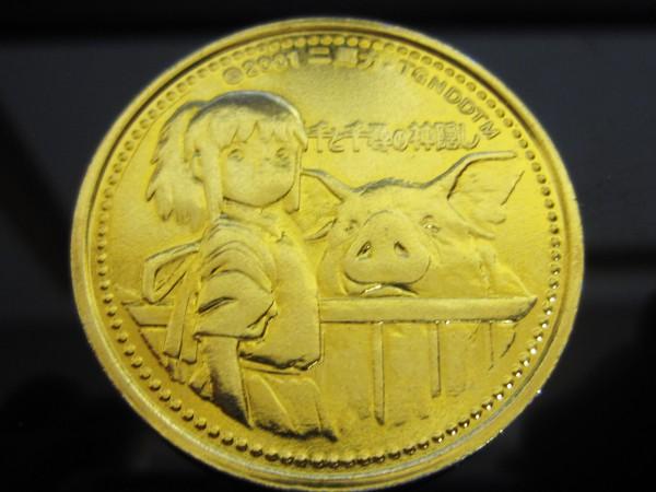 金色のコイン