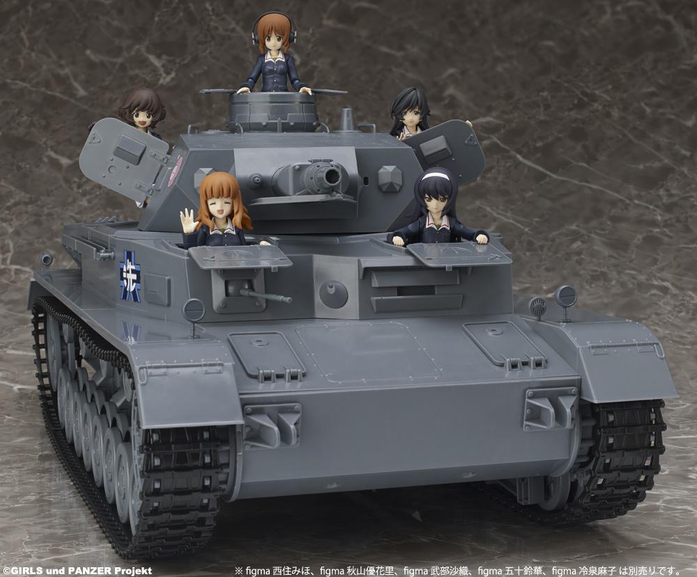 Panzer vor!! ガルパン、あんこうチームを乗せて走る1/12本格戦車模型登場