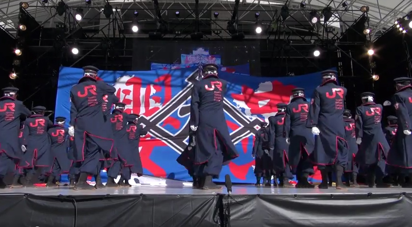 JR九州のYOSAKOIチームが「カッコイイ」と話題