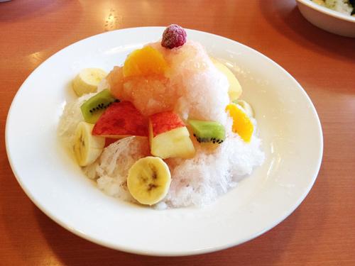 氷 ピーチフルーツ