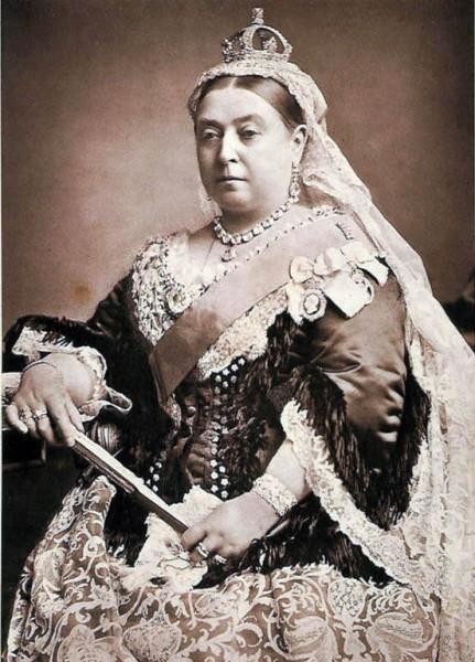 画像:Wikipedia『ヴィクトリア (イギリス女王)』より