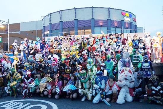 全国各地のヒーロー達が千葉県に大集結!『2015日本ローカルヒーロー祭』今年は2日間開催決定