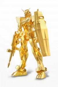純金製 機動戦士ガンダム「RX-78-2 GUNDAM Featuring ROBOT魂」
