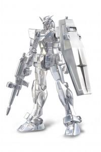 銀製 機動戦士ガンダム「SILVER950 RX-78-2 GUNDAM Featuring ROBOT魂」