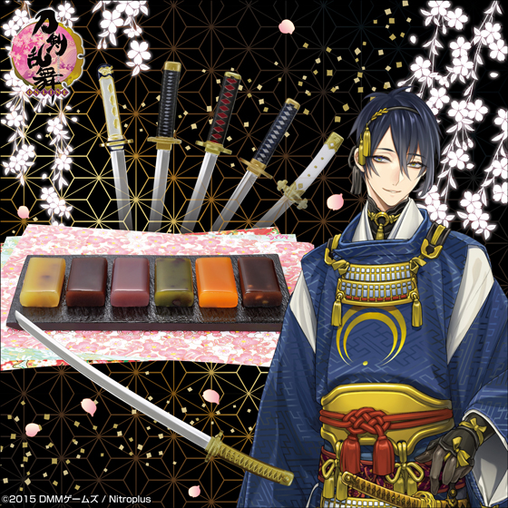 本格的な金属製刀剣菓子切も付いている!『刀剣乱舞-ONLINE-』の羊羹セットが発売