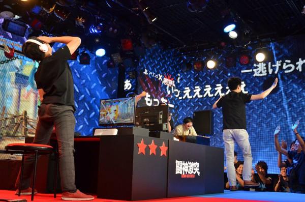 バトル4はもっちー選手が勝利し、プロゲーマー連合軍が一矢報いる