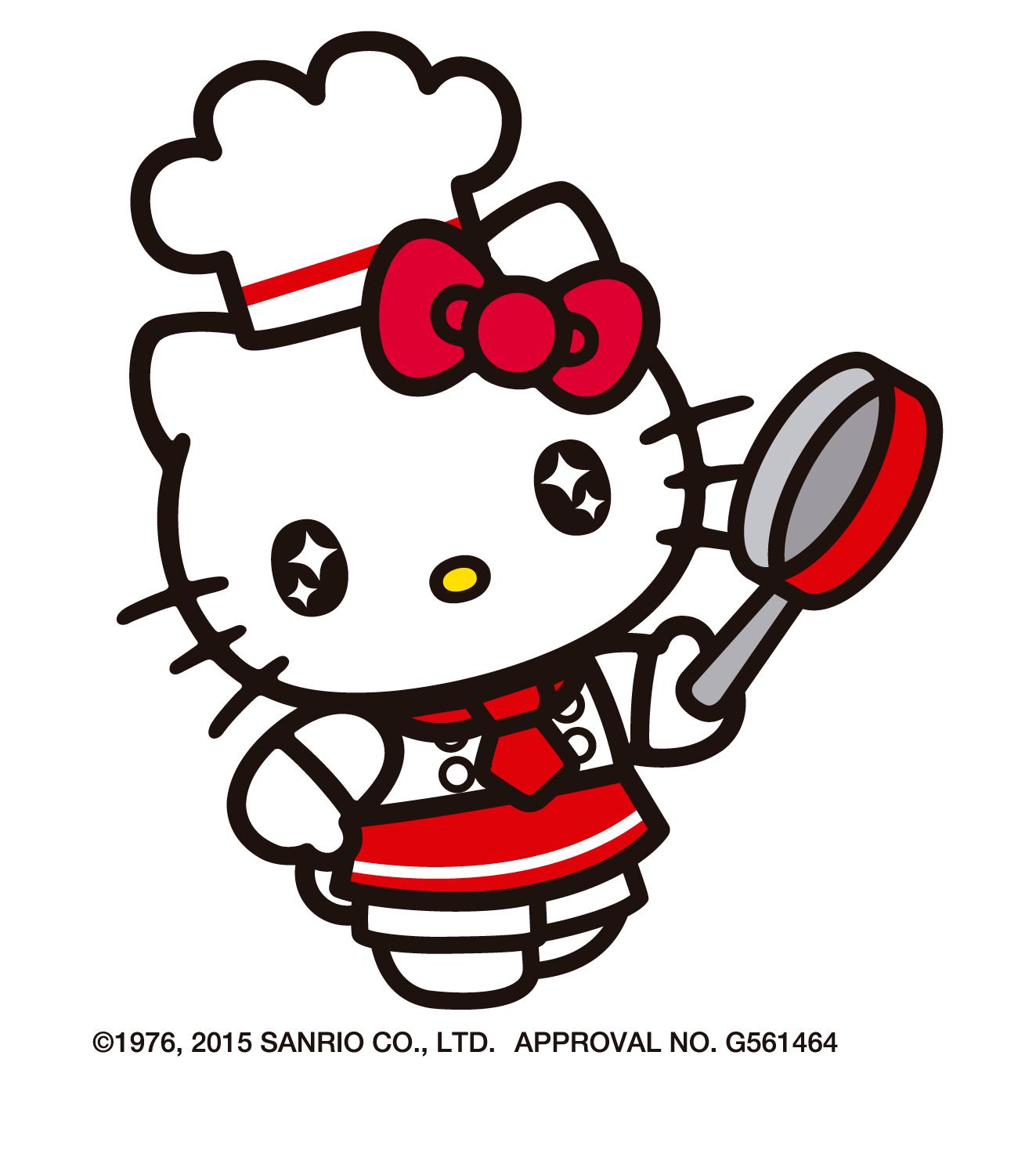 キティさんの目が目がぁ~~~!!星が2個飛ぶ昭和少女マンガ風に