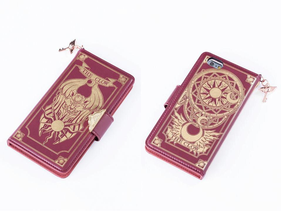 汝のあるべき姿に戻れ !『カードキャプターさくら』クロウカードの本型スマホケース
