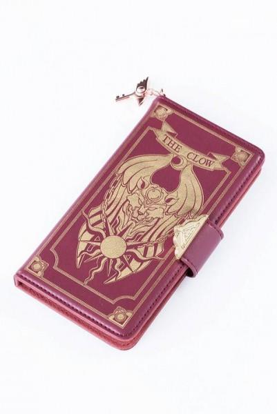 クロウカードの本ブック型スマートフォンケース