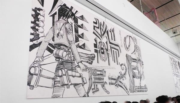 諌山先生も来たぞ~!『進撃の巨人展WALL OITA』に行ってきました