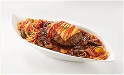 チーズバーグスパゲティ2倍盛り