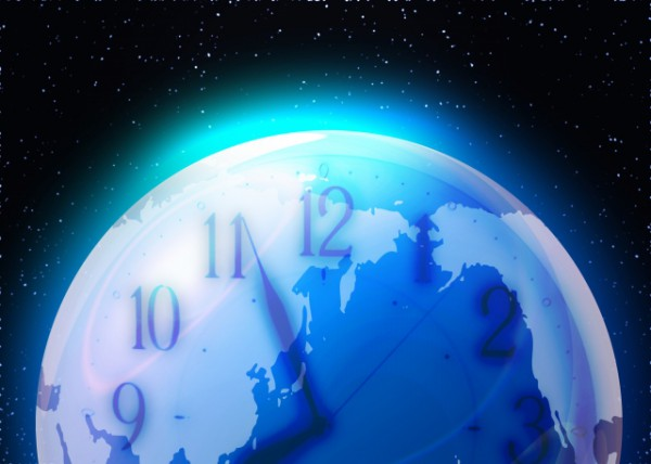 地球のカウントダウン