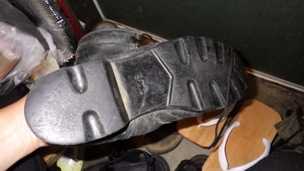 ブーツの裏