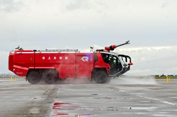 新型消防車