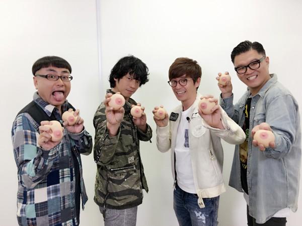 『おっぱいボヨヨ~ン!!』収録中1