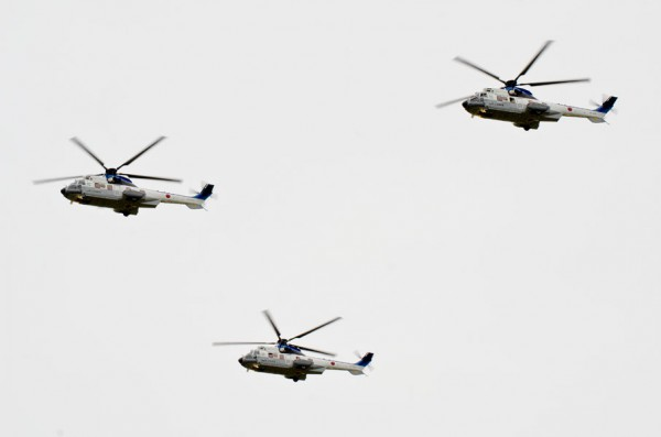 3機に戻った特別輸送ヘリコプター隊