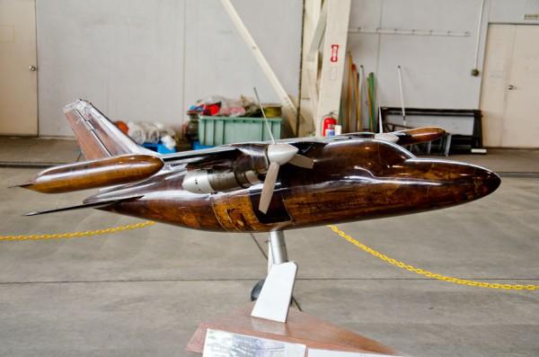 MU-2風洞試験モデル