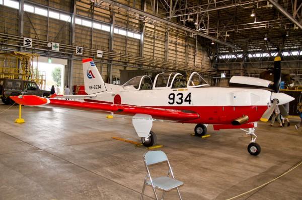 第11飛行教育団のT-7