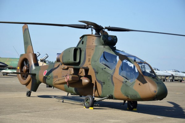 東部方面航空隊のOH-1