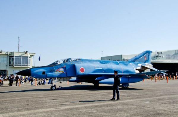洋上迷彩(試験)塗装のRF-4E・901号機
