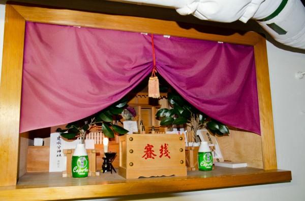 こんごうの艦内神社