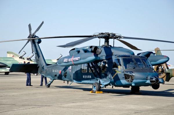 救難隊50周年記念のUH-60J