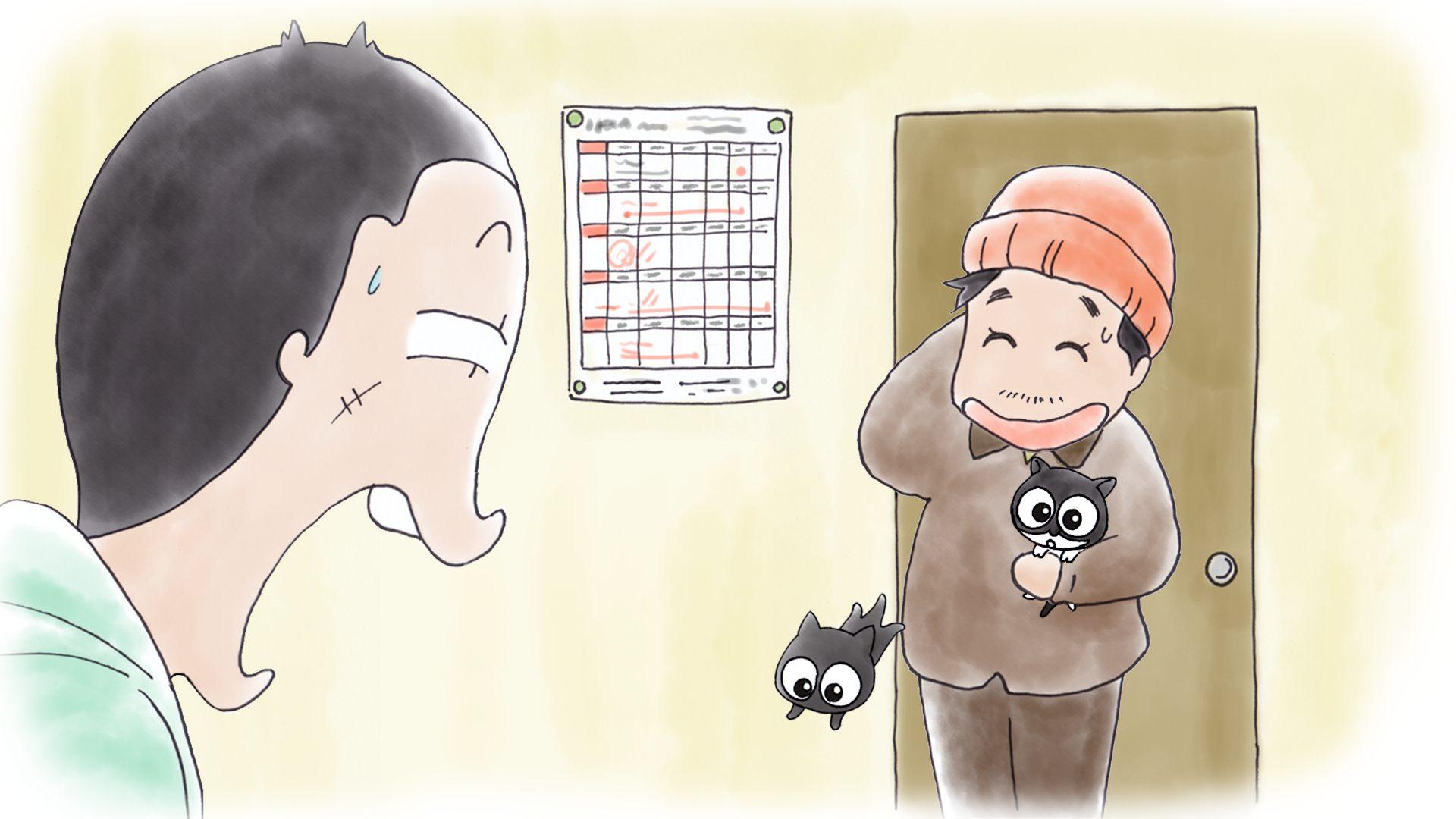 実話を元にした泣ける猫作品『猫なんかよんでも来ない。』、アニメ版10月2日よりスタート