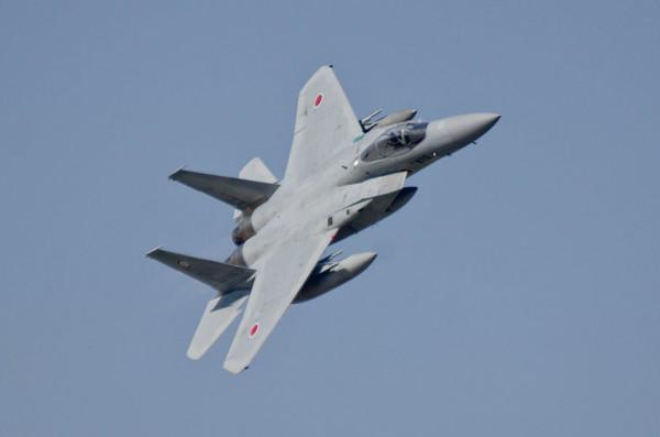F-15Jの機動飛行