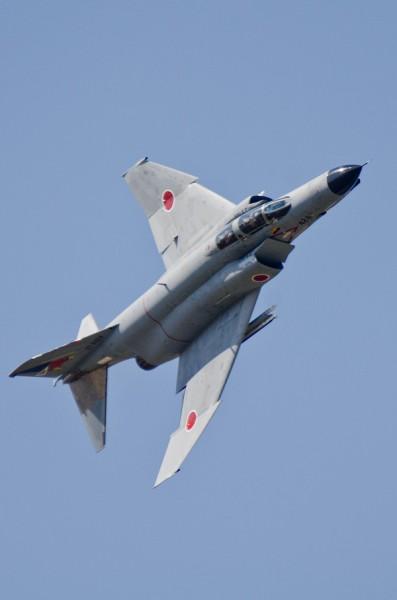 F-4EJ改のデモフライト