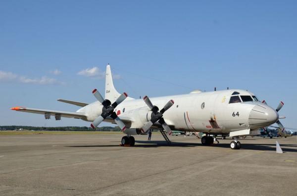 第203教育航空隊のP-3C