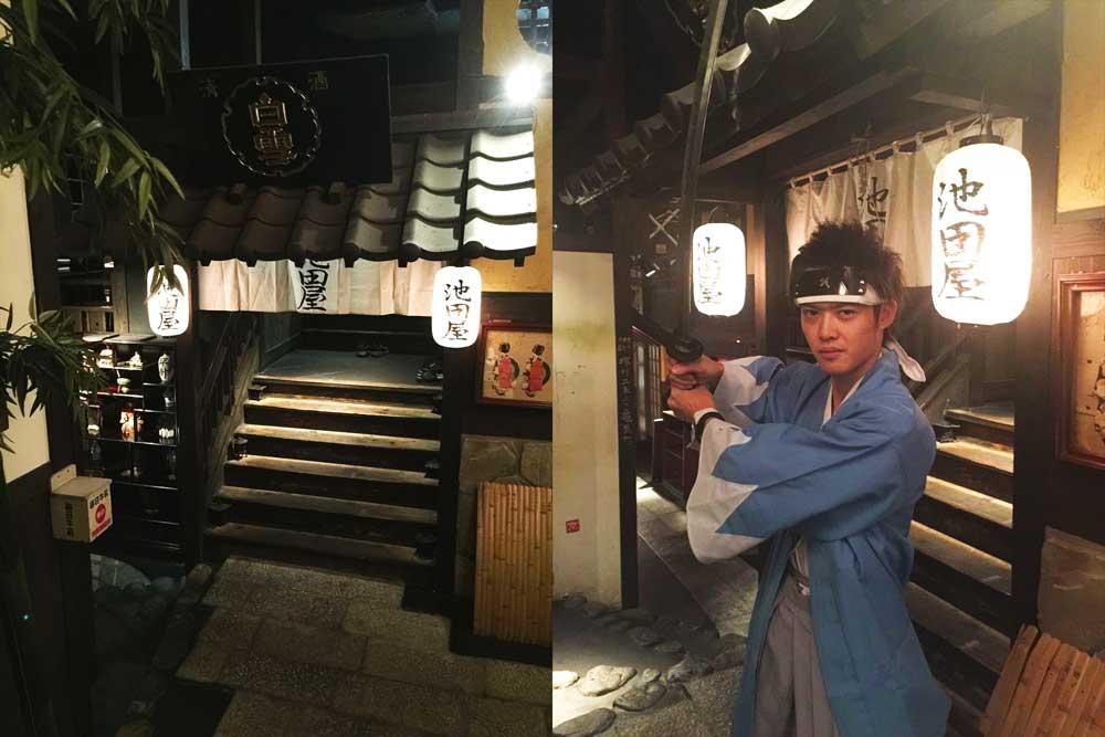 新撰組隊士の討ち入りサービスあり!新宿の和風居酒屋が「歴女」「刀女子」ターゲットのフェア開催
